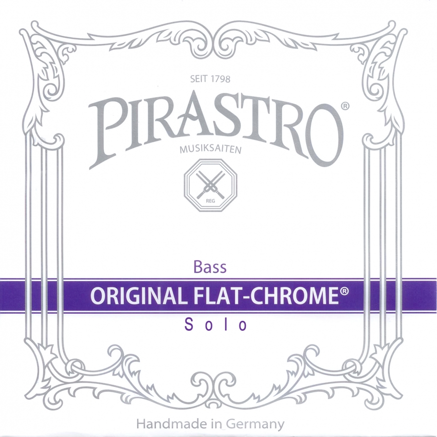 PIRASTRO Original Flat-Chrom Solo Bass CIS