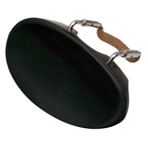 Petz Kinnhalter Modell Ohrenform für 4//4 Geige//Violine Ebenholz