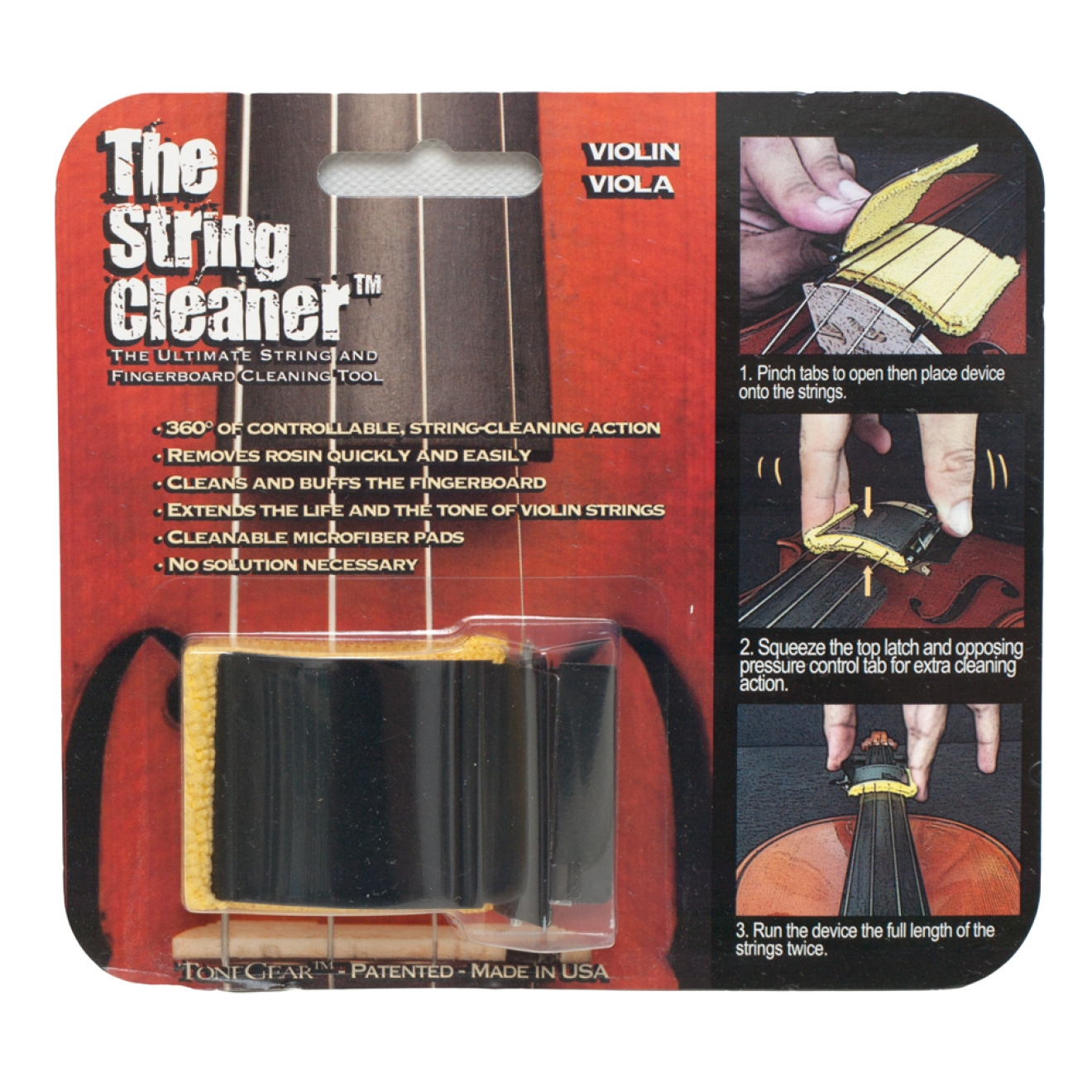 TONEGEAR The String Cleaner