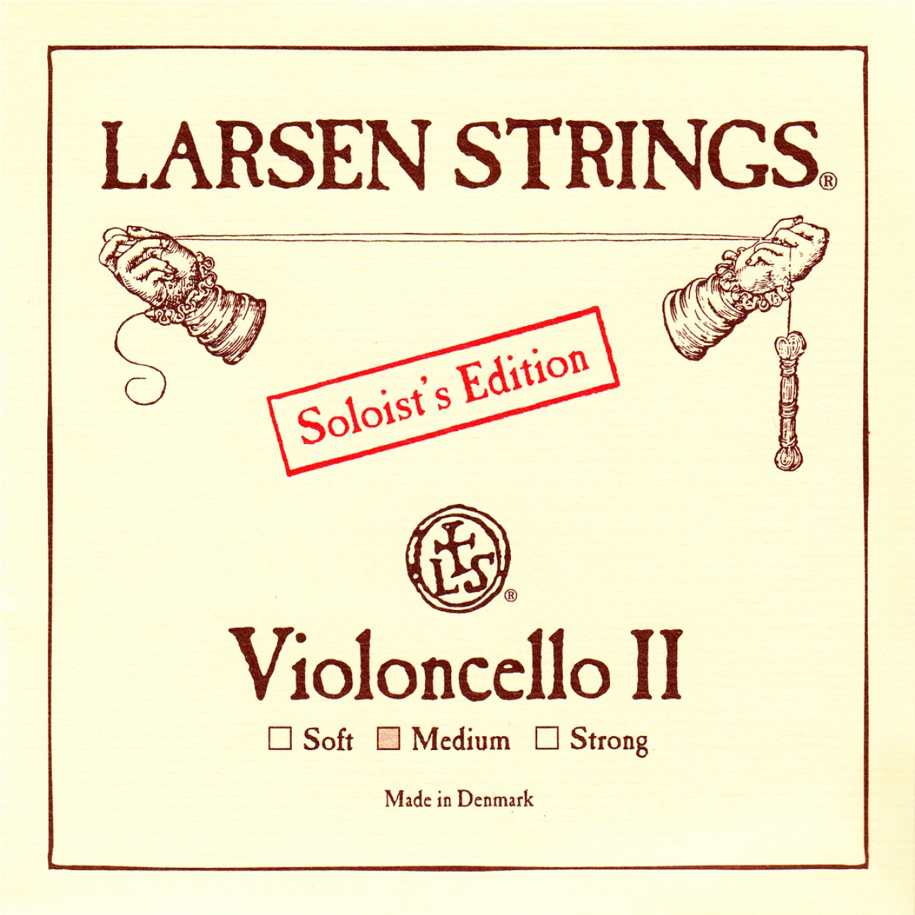 LARSEN Cello Soloist D