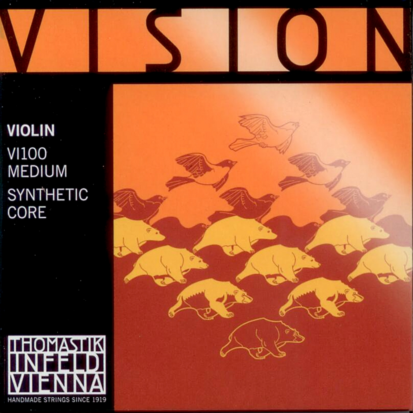 THOMASTIK Vision Violin SET